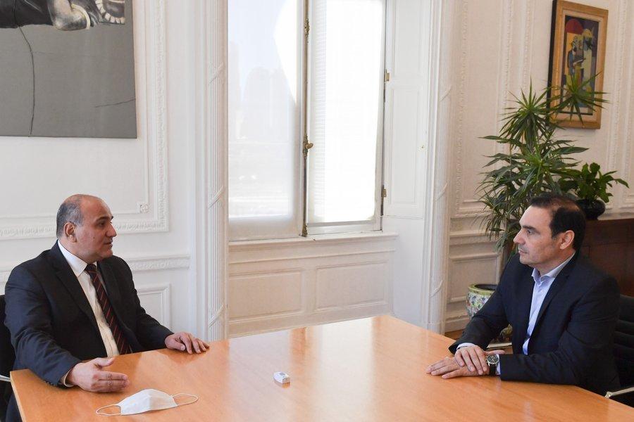Valdés con Manzur: Obras públicas nacionales en Corrientes