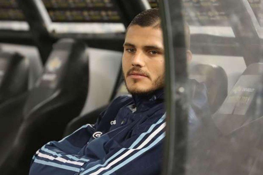 Tras varios días de crisis, Mauro Icardi reapareció en la práctica del PSG