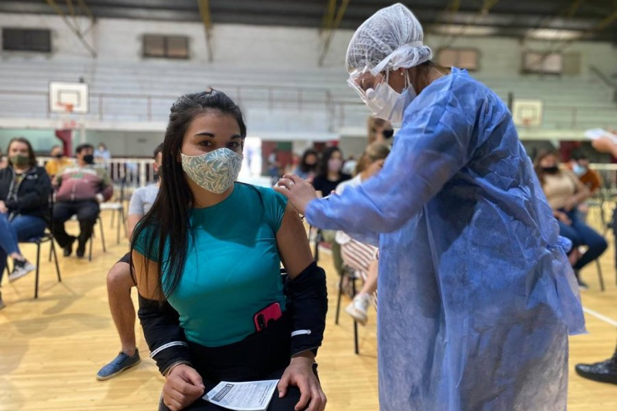Covid: Goya inicia otra maratón de vacunación a menores