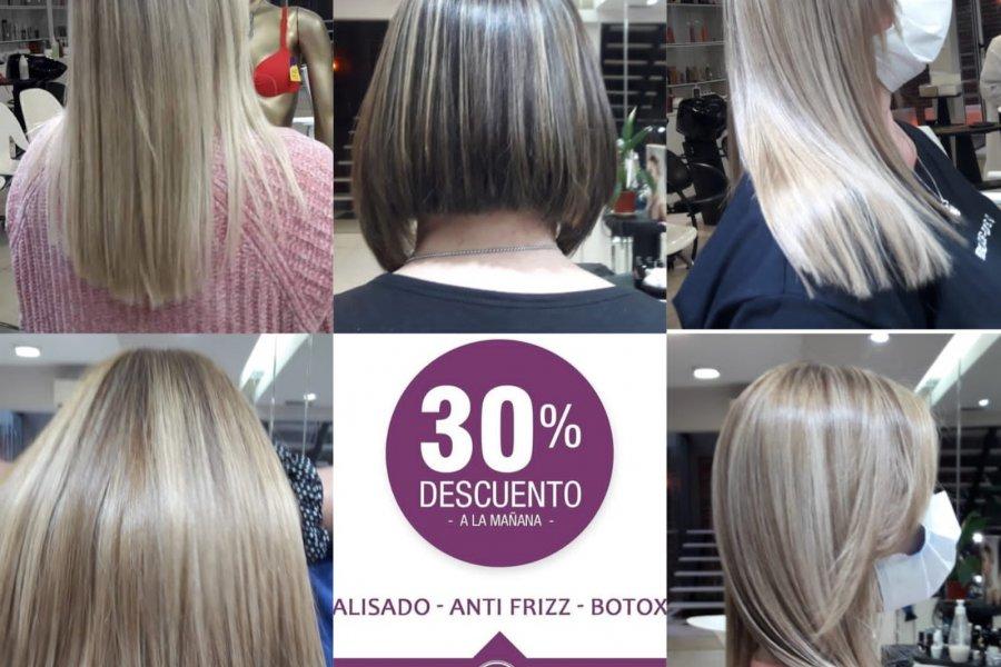 Promoción para tratamientos capilares en el Salón & Spa  de Sandra Espínola