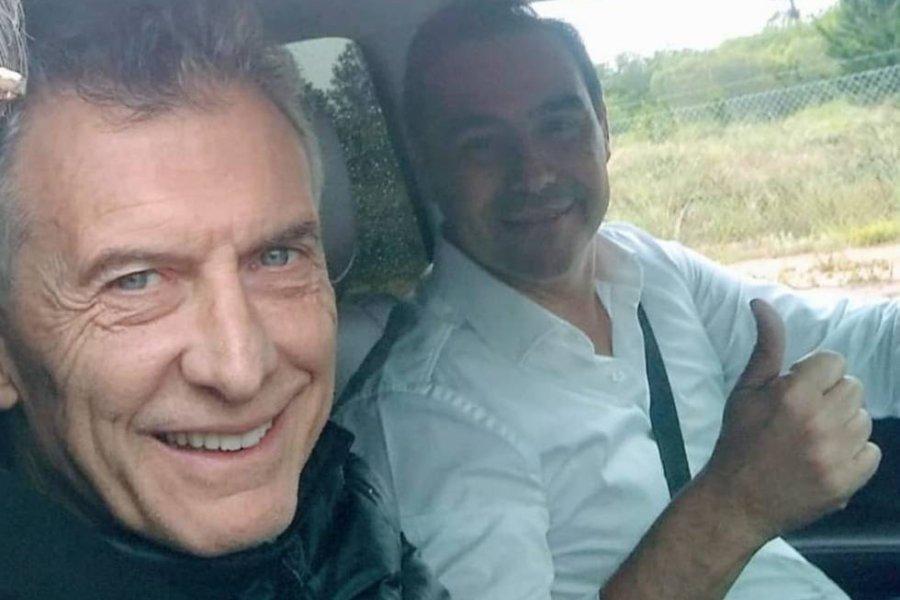 Macri llegó a Corrientes y recorrió obras con Valdés
