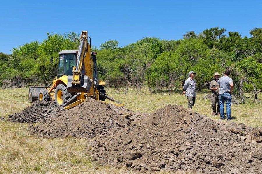 Santa Fe: comenzaron excavaciones en busca de restos de desaparecidos en campo militar
