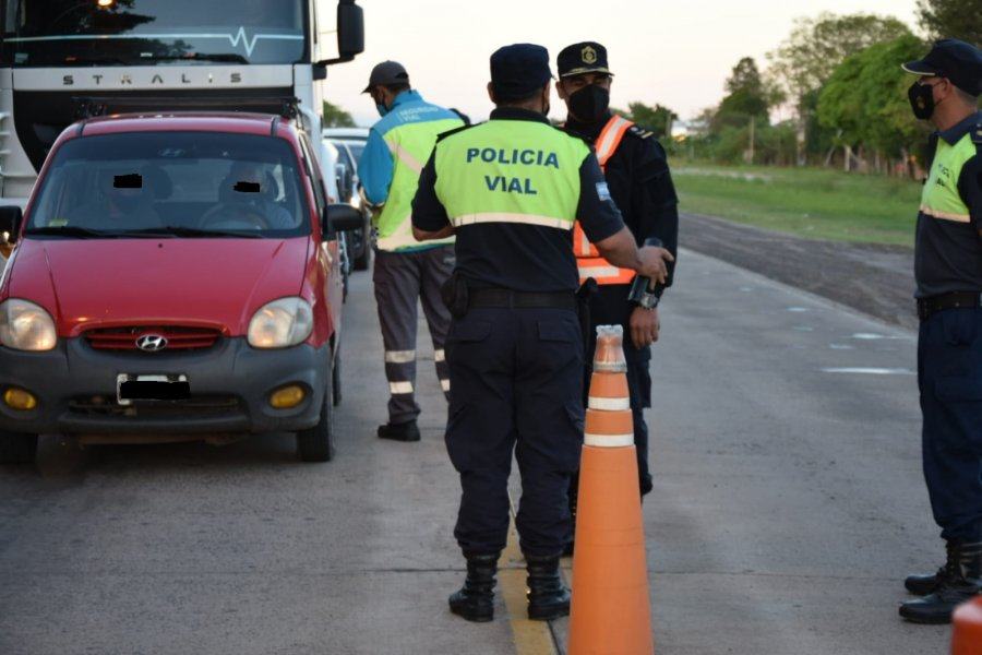 Realizaron test de alcohol en sangre en rutas de Corrientes