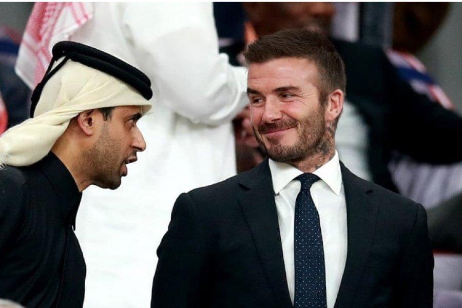 David Beckham será la cara del Mundial de Qatar 2022
