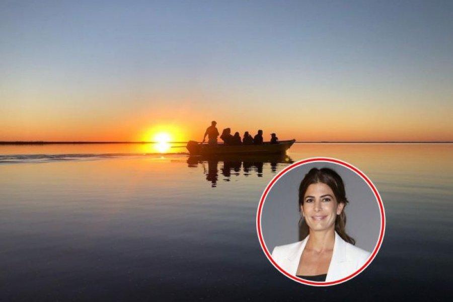 El posteo de Juliana Awada en los Esteros del Iberá
