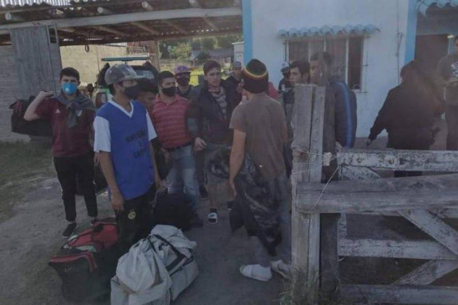 Rescataron a correntinos engañados por trabajo en La Plata