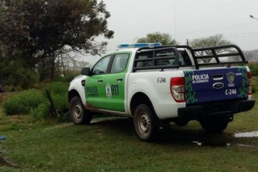 Policía detenido por cuatrero