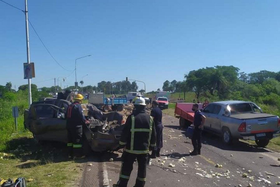 Dos muertos tras un siniestro vial por Ruta Provincial 27