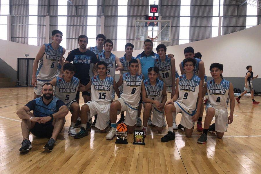 El U15 de Regatas se quedó con el torneo Ciudad de Puerto Rico