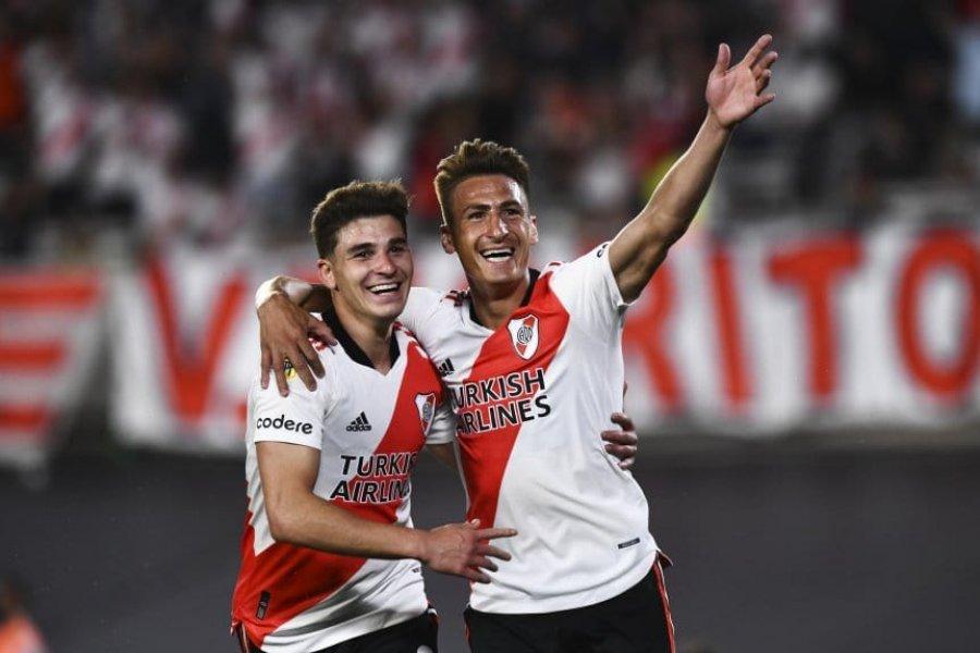 River, imparable: goleó a Argentinos y dio otro paso hacia el título