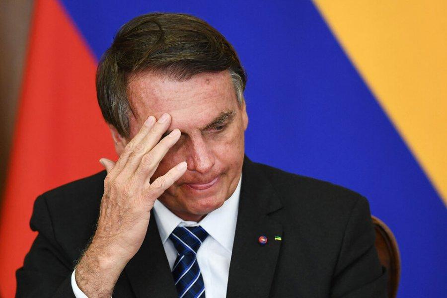 Otra de Bolsonaro, el insuperable…