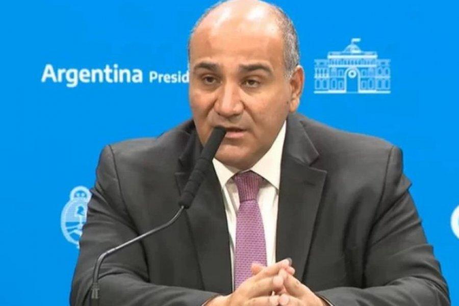 Manzur recibe a Canteros con la apertura de pasos fronterizos en agenda