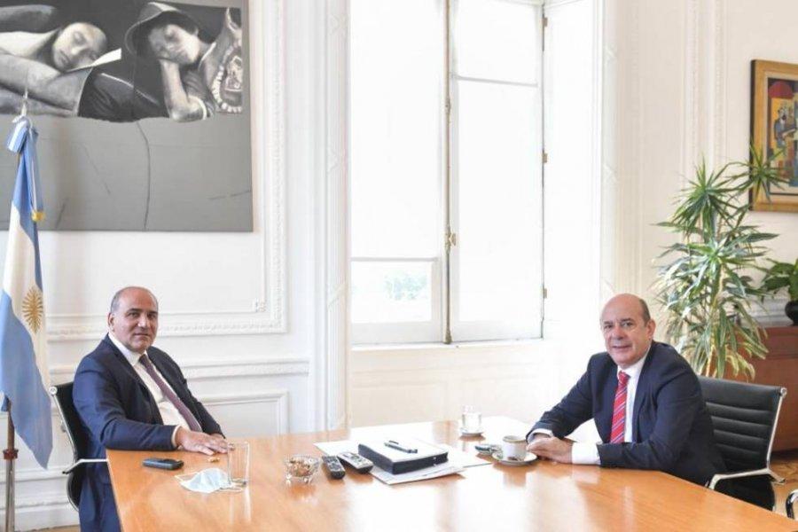 Canteros se reunió con el Jefe de Gabinete con agenda de temas provinciales