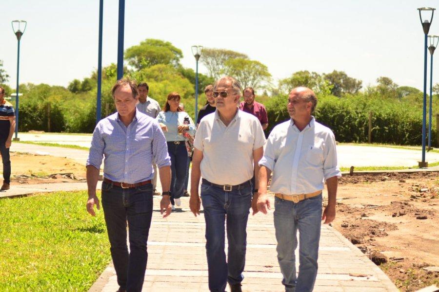 Caram y Camau Espínola compartieron una gran jornada con los vecinos del paraje Santa Juana