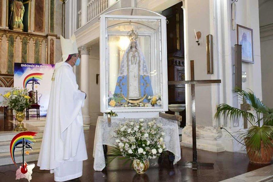 Con gran fervor a la Virgen de ItatÍ siguen la novena por los 60 años de la Diócesis