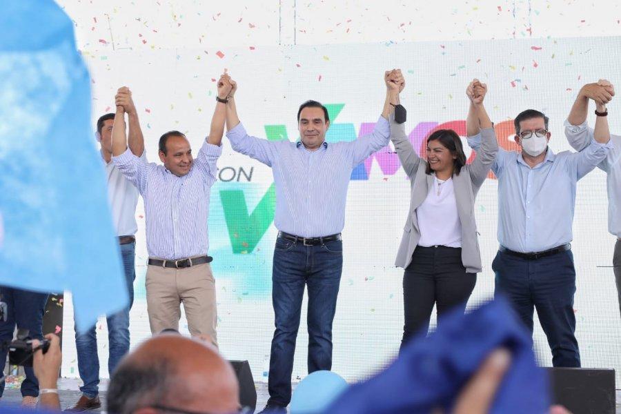 Valdés presentó los candidatos de ECO+ Vamos Corrientes en Itatí