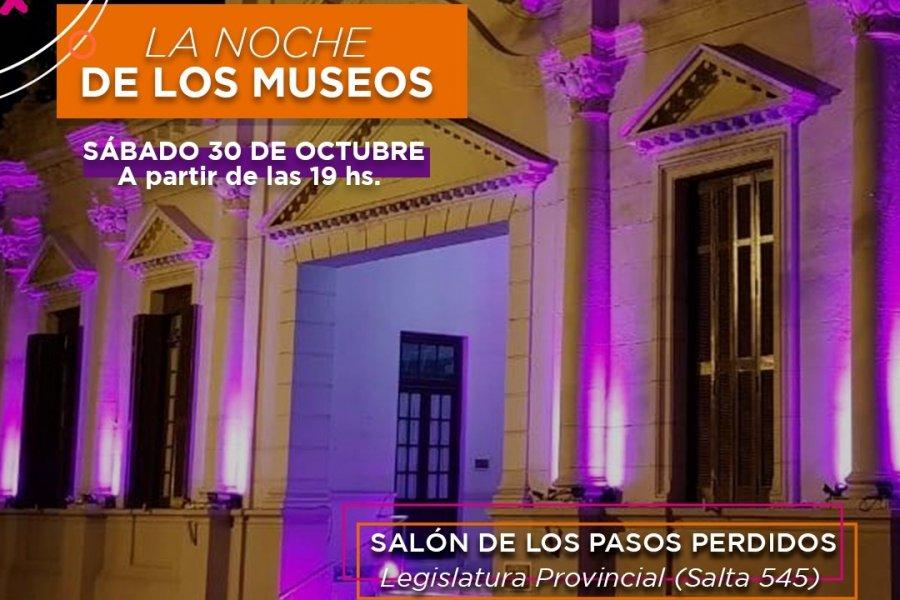 Noche de los Museos: habrá muestras, libros de autores correntinos y música
