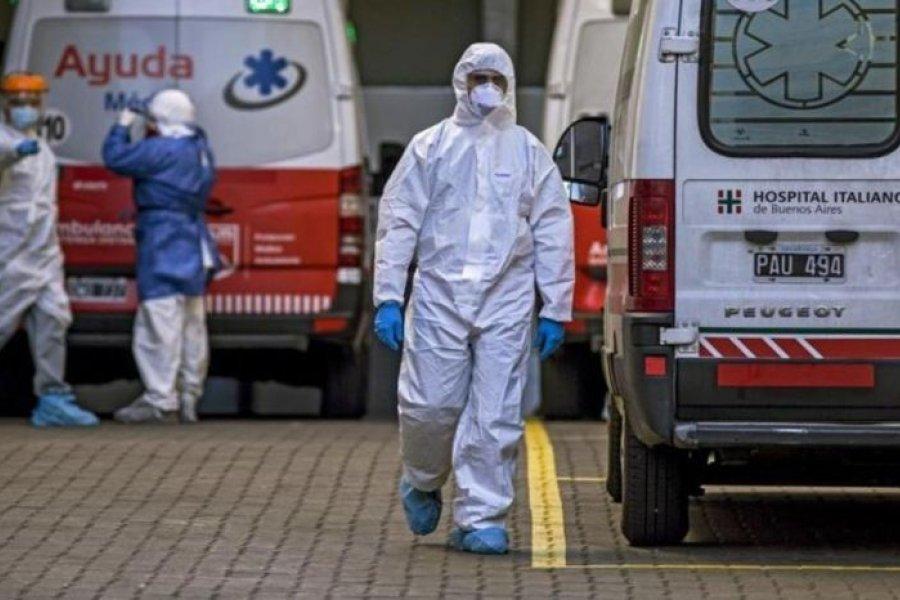 15 muertos y 1.415 nuevos contagios de coronavirus en Argentina