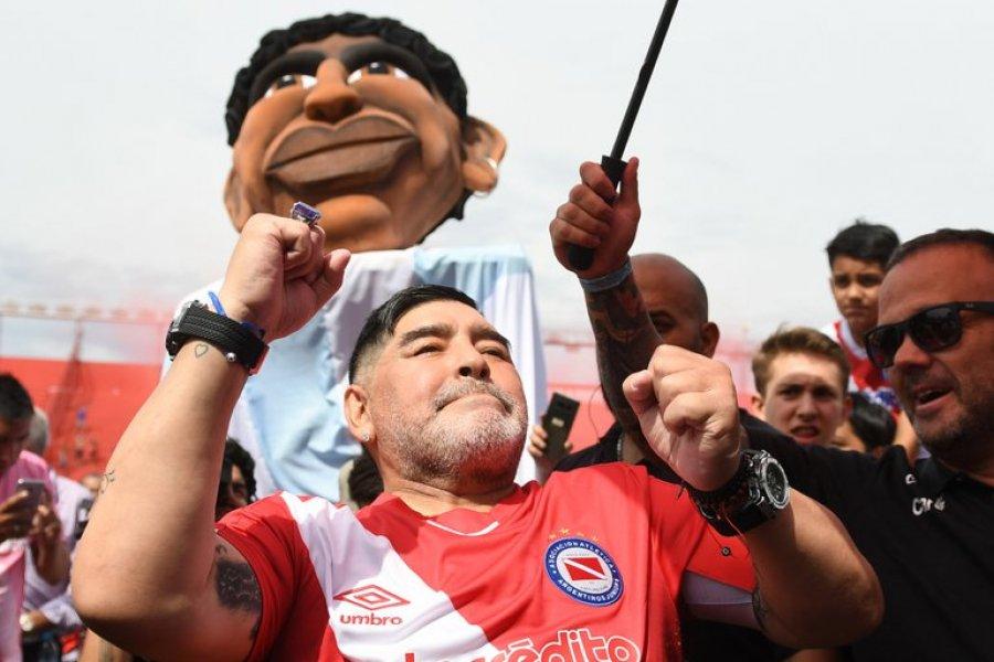 Argentinos Juniors homenajeará a Maradona en el día de su cumpleaños