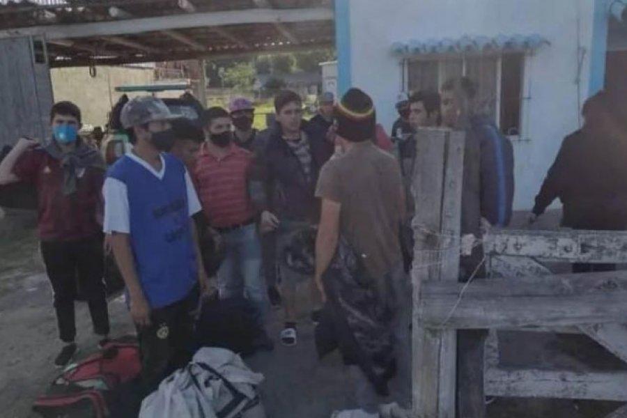 Volvieron a sus hogares los goyanos esclavizados en una finca de La Plata