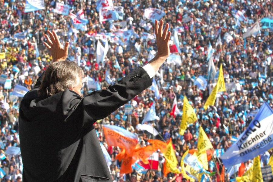Néstor Kirchner, el que iluminó