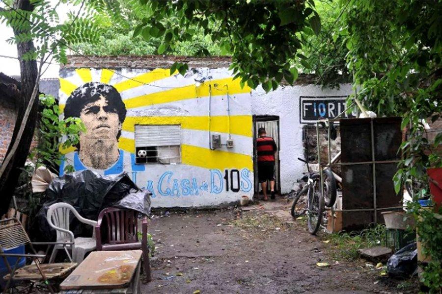La casa natal de Maradona, en Villa Fiorito, fue declarada lugar histórico nacional