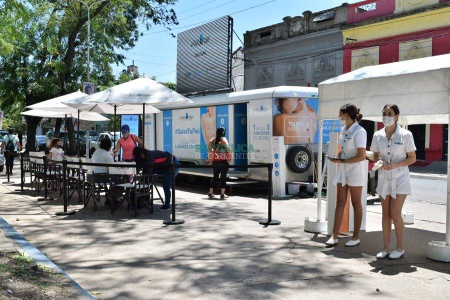 Alta demanda de testeos dermatológicos gratuitos en Corrientes