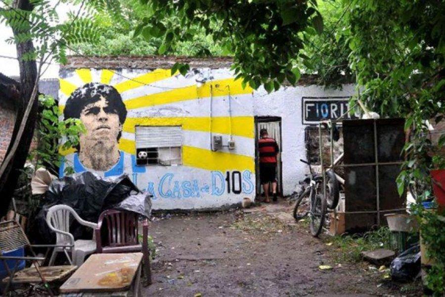 """La casa natal de Maradona fue declarada """"lugar histórico nacional"""""""