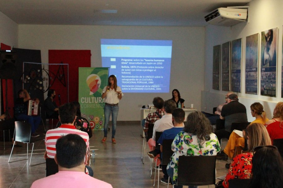 Se realizó la Jornada de Sensibilización en Patrimonio Cultural Inmaterial para Comunicadores