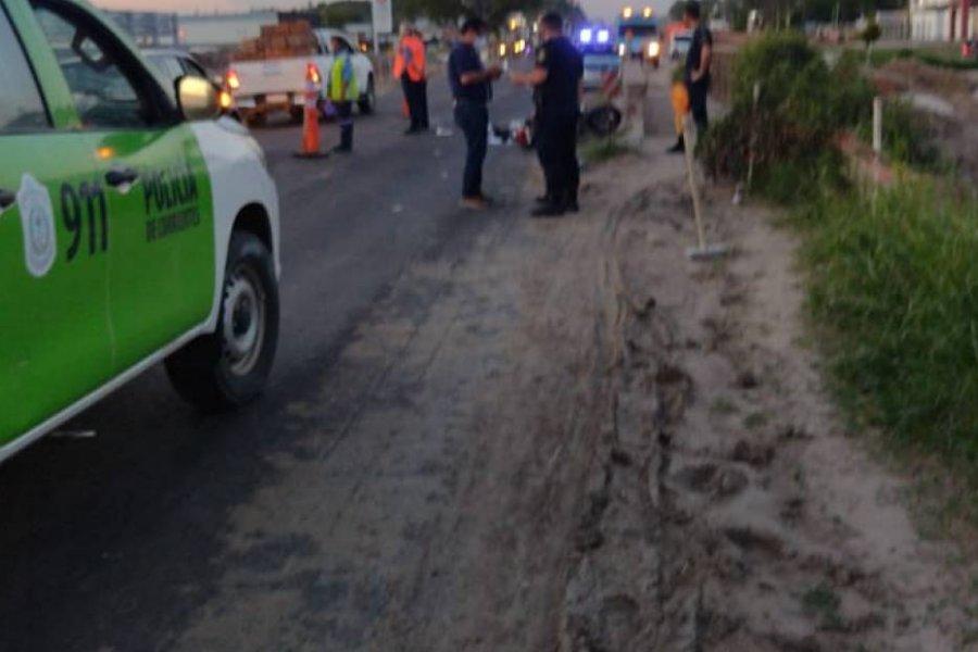 Una agente penitenciaria murió atropellada por un camión