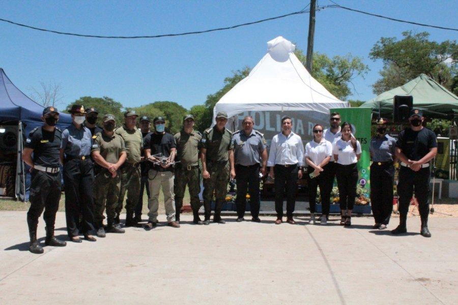 El Ministerio de Seguridad mostró su potencial en la Expo Nacional de Razas