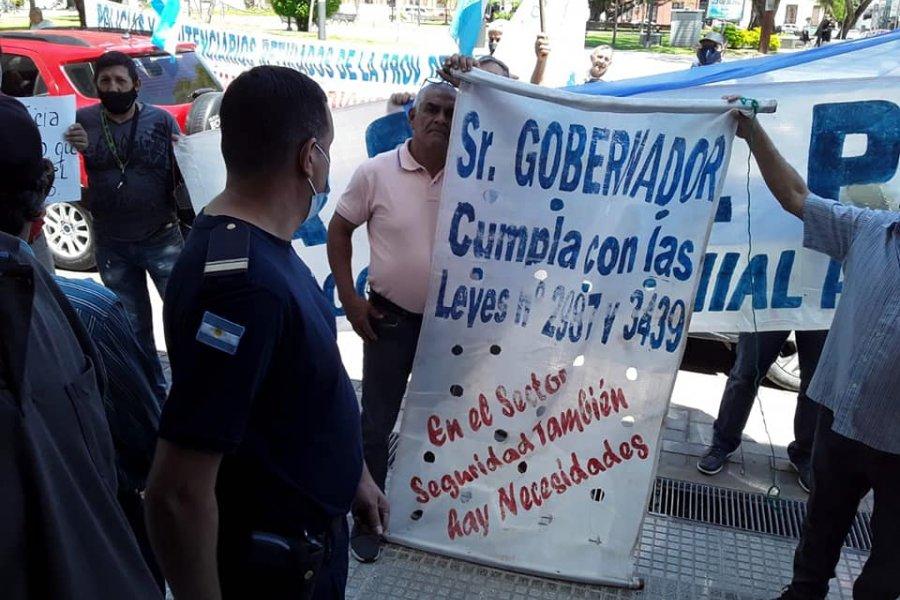 Esta mañana: Nueva marcha y concentración de policías provinciales
