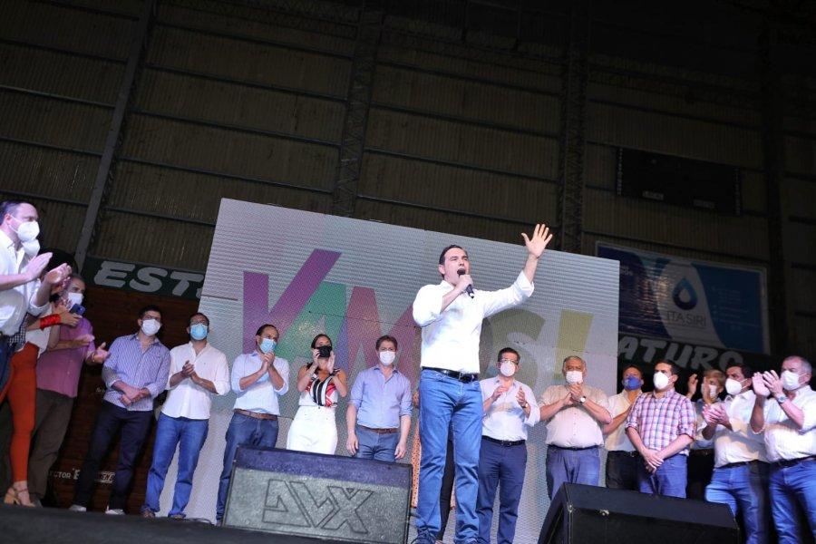 Valdés se mostró por encima de la grieta y reclamó federalismo a la Nación
