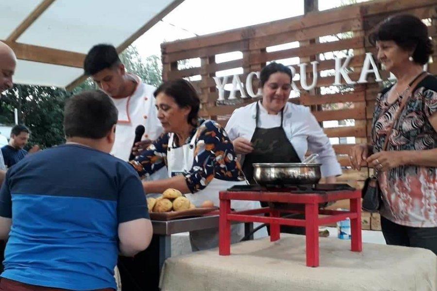 Cocineros del Iberá se alista para la Fiesta Nacional del Chamamé