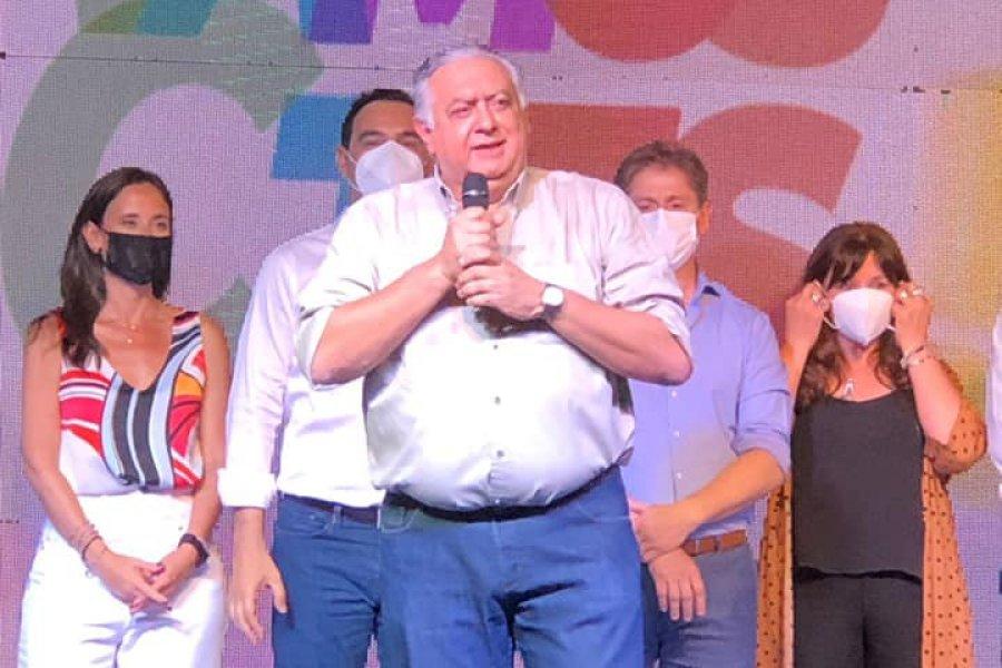 La dirigencia de ELI en el acto zonal de ECO + Vamos Corrientes en Goya