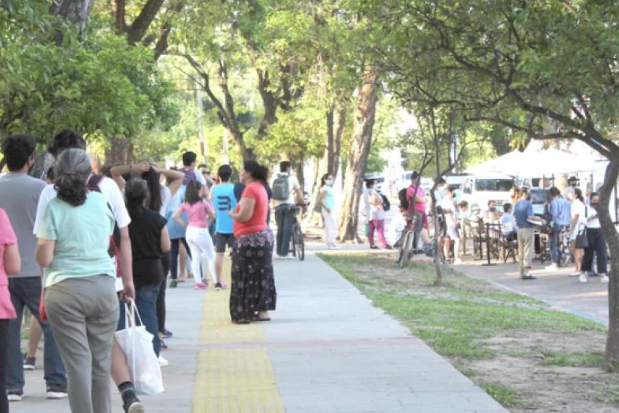 En dos días, se hicieron más de 300 testeos dermatológicos gratuitos en plaza La Cruz